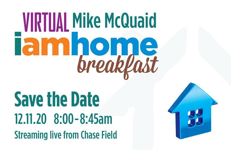 """Virtual Mike McQuaid """"I am Home"""" Breakfast"""