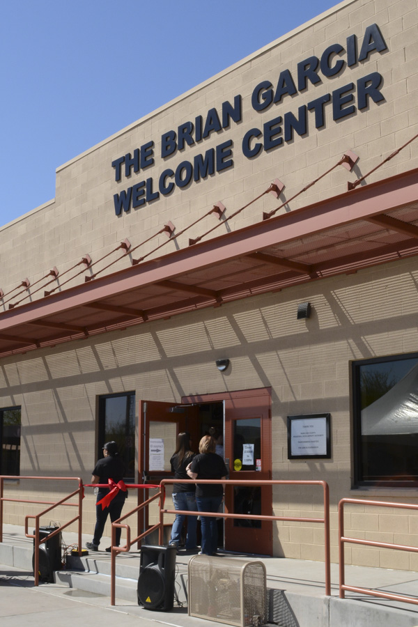 Brian Garcia Welcome Center | Ribbon Cutting